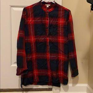 Women's Gap flannel shirt